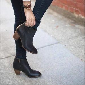 Madewell Billie Boot Black 9 Leather E0191
